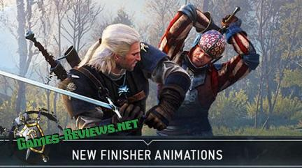 Новая анимация добивающих ударов для Ведьмак 3