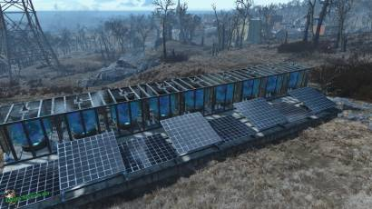 Солнечные батареи в fallout 4