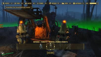 Fallout 4 робот охранник