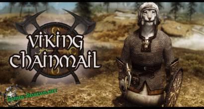 Щит и кольчуга викинга