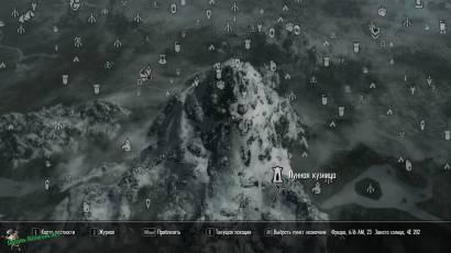 Лунная Кузница на карте