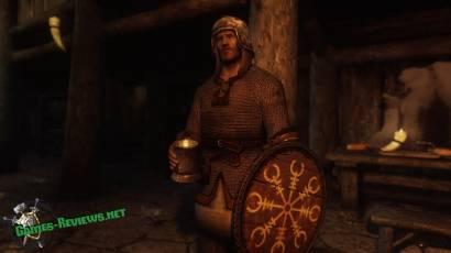 Викинг с кружкой