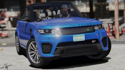 Range Rover Sport для GTA 5