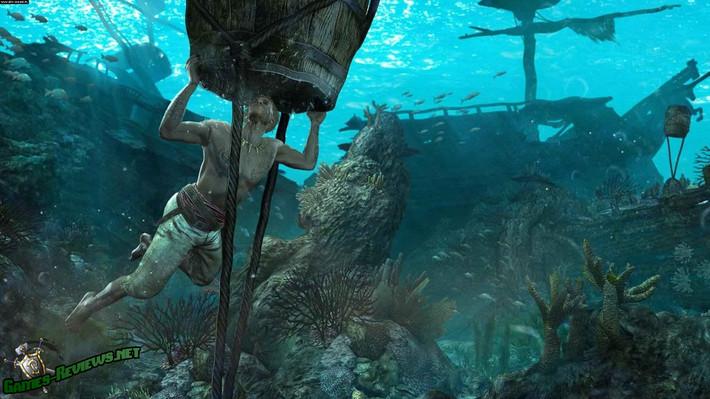 Подводный мир в Assassins Creed 4