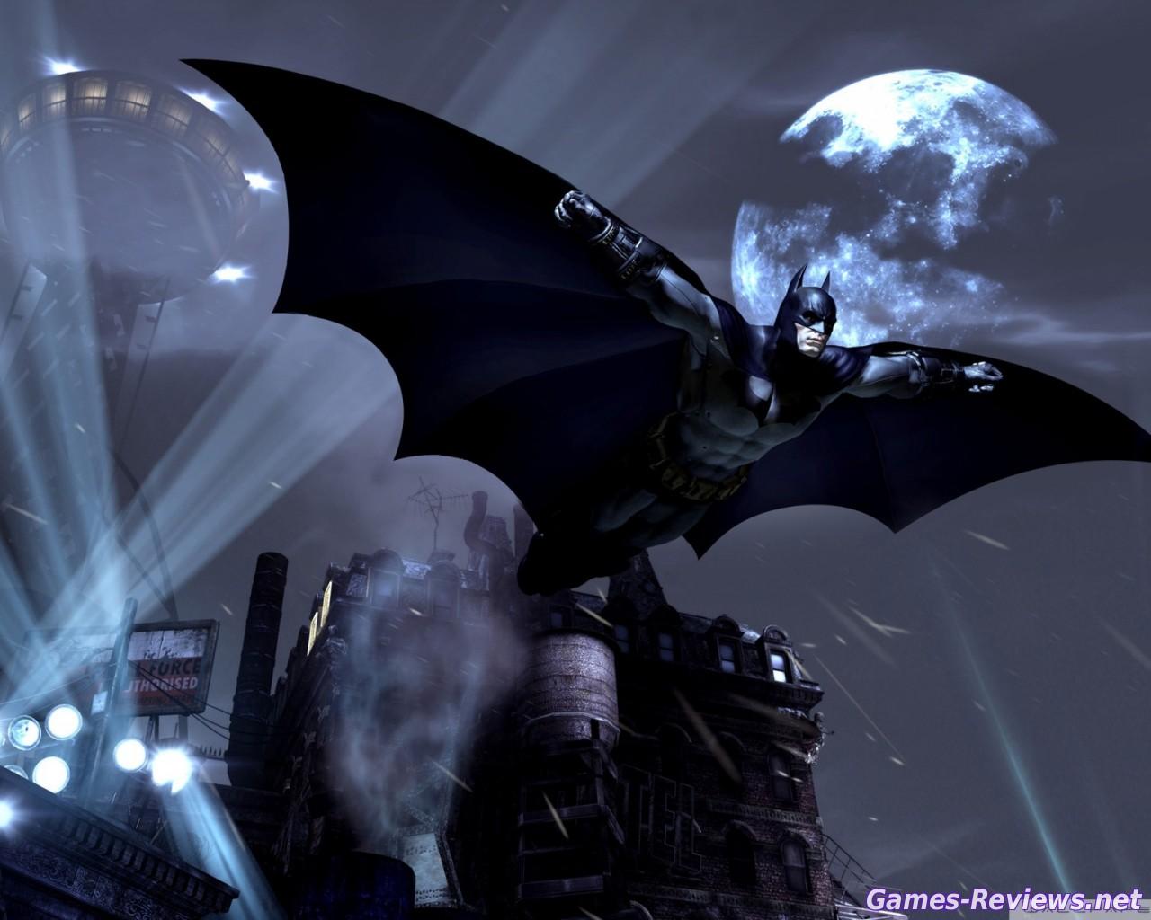 Как летать в Batman: Arkham Origins