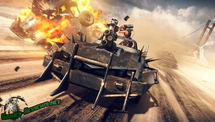 Кузов Дикая Охота в Mad Max