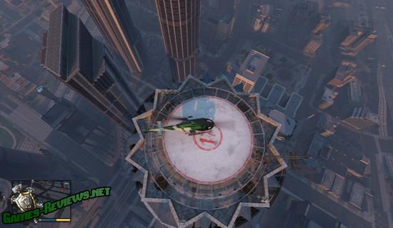 На крыше Мэйз Тауэр