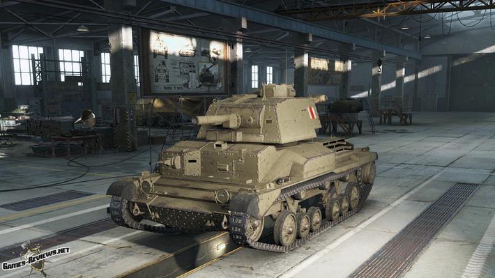 Cruiser Mk. II - имба 3 уровня