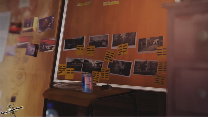Головоломка с уликами на доске в 4 эпизоде Life Is Strange