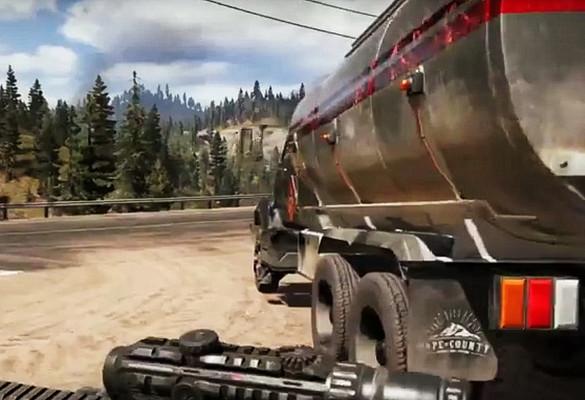 Скриншот из задания «Дозаправка» - Far Cry 5