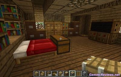 Кровать в Майнкрафт