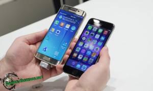 Samsung Galaxy s6 edge и iPhone 6s