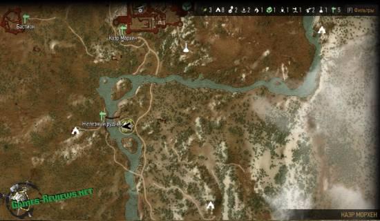 Могила Лео на карте