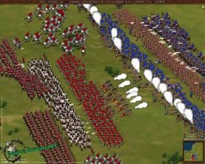 Битва в игре Казаки: снова война