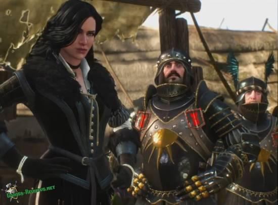 Йеннифэр и охранник