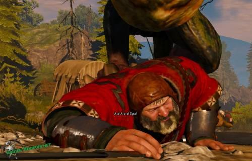 Василиск хватает барона
