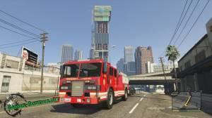 Пожарная машина из ГТА 5