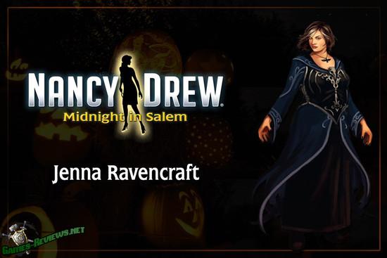 Герои игры Нэнси Дрю 33: Полночь в Салеме.
